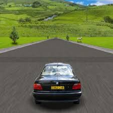 Playing Action Driving Game