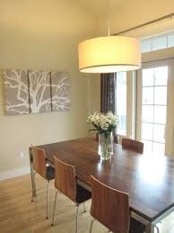 Transitional Dining Room Set Transitional Dining Room Lighting Minimalist Direct Drum Pendant L