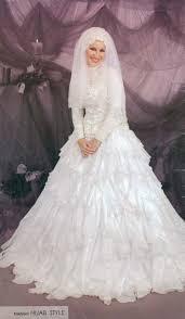 فساتين زفاف محجبات أنيقة2019