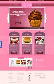sweet cakes ecommerce psd website template designscanyon sweet cakes ecommerce psd website template
