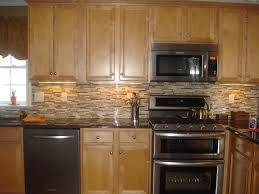 kitchen cabinets with granite countertops: image of tile backsplash ideas with granite countertops