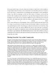 living in the city essay  www gxart orgadvantages city life essay   power comes responsibility essaylife is the city is much more active
