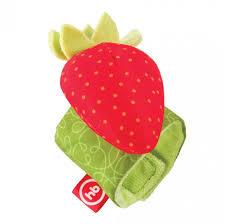 <b>Погремушка Happy Baby Браслет</b> Juicy Strawberry - Акушерство.Ru