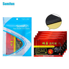 sumifun 8pcs bag pain relief patch chinese traditional herbal medical neck back body relaxation killer relax c1560