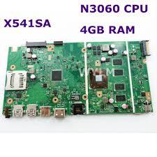 <b>X541SA N3060 CPU 4GB</b> RAM mainboard REV 2.0 For ASUS X541 ...