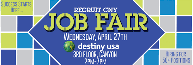 recruit cny job fair destiny usa job fair web
