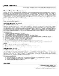 Example Cv Medical Sales Rep Jackie Brown Medical Medical Jobs     Worldword