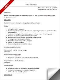 example of nurse resume good nursing resume examples f  d d    resume nursing student resume sample resume