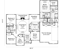 Bedroom Ranch Floor Plans   Ranch Style House Plans With Walkout     Bedroom Ranch Floor Plans   Ranch Style House Plans With Walkout Basement