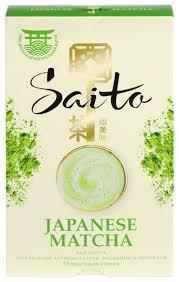 <b>Чай черный Saito Japanese</b> Matcha в пакетиках — купить по ...