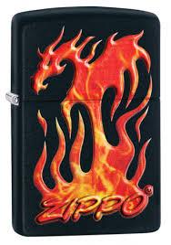 <b>Зажигалка</b> Flaming <b>Dragon Design ZIPPO</b> 29735