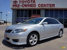 2010 Toyota Camry Se 2010 Toyota Camry Se V6 In Classic Silver Metallic 107591