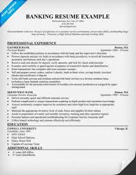 resume examples  personal banker resume examples resume templates    personal banker resume sample  sample banking  personal banker