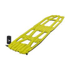 Надувной <b>коврик Klymit Inertia</b> X Frame pad Chartuesse Yellow