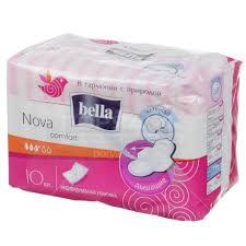 <b>Прокладки</b> женские <b>Bella Nova Comfort</b> Soft, 10 шт в Москве ...
