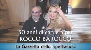 50 anni di carriera per <b>Rocco Barocco</b> - YouTube