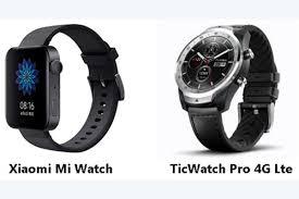 Xiaomi Mi Watch VS <b>TicWatch Pro 4G Lte</b>: Winner is? | GearBest Blog