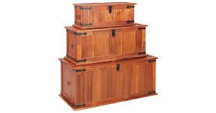 <b>Storage Chests 3 pcs</b> Solid Acacia Wood - Kogan.com
