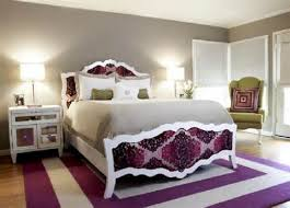 purple gray bedroom