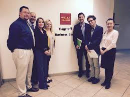 connecting employers executive job shadow program the executive job shadow 2017 the wells fargo team and christopher liu benjamin mitten and hien truong