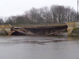 Image result for images of floods and bridge