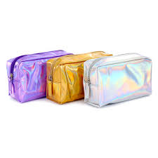 <b>New</b> Arrival Colorful Laser <b>Makeup Bag</b> with Custom Logo <b>Large</b> ...