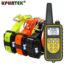 2020 High Quality <b>800m</b> Remote Dog Training Collar Rechargeable ...