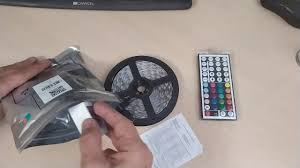 <b>ZDM RGB LED Strip Light</b> 5M 75W DC12V - YouTube