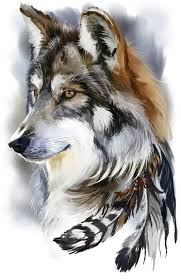 5D DIY <b>Diamond</b> Painting Wolf Full Square Mosaic Embroidery ...