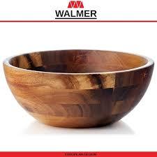 <b>Миска</b>-салатник <b>Safari</b> из дерева акации, D 20 см, <b>Walmer</b> ...