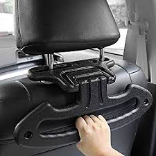 <b>Car</b> Clothes Holder Headrest <b>Car Coat Hanger</b> Multifunction Travel ...