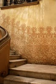 Small Picture Sgraffito plaster and patterns on decorative walls in Barcelona