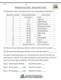 nd grade math word problems second grade math problems beaufort scale wind
