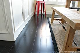 Best Wood Floors For Kitchen How To Clean Dark Wood Floors Our Fifth House