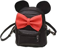 USHOT 2018 New Mickey Backpack Female Mini Bag ... - Amazon.com