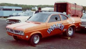 Colin Mullan's car circa 1974, Firenza body hiding a 283 small-block. - invader