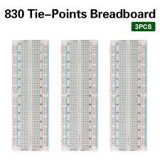 <b>Free shipping</b>! 3PCS <b>HIGH QUALITY</b> Breadboard 830 Point ...