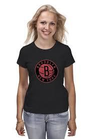 Футболка классическая <b>Brooklyn Nets</b> #649279 – заказать ...