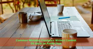 common mistakes lance writers commit how to correct lance writer mistake