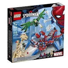 ≡ <b>Конструктор LEGO</b> Super Heroes <b>Паучий вездеход</b> (76114 ...