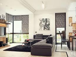 modern living room interiors glass