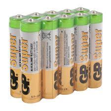 Батарейка <b>GP Super</b> LR3 ААА 10 шт купить недорого в интернет ...