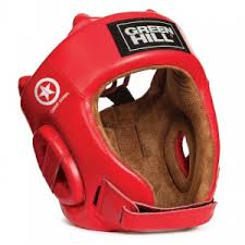 <b>Шлем Green Hill FIVE</b> STAR COMBAT SAMBO HGF-4013 красный ...