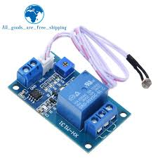 TZT <b>XH M131 DC</b> 5V / <b>12V Light</b> Control Switch Photoresistor Relay ...