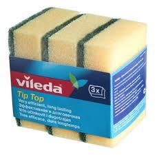 <b>Губка</b> для мытья посуды <b>Vileda</b>, Тип-Топ, 3 шт. — купить в ...