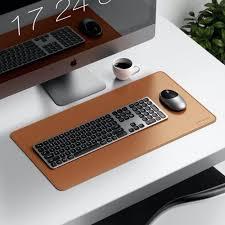 <b>Satechi Eco</b>-<b>Leather</b> Deskmate Computer Mat/<b>Mouse</b> Pad (Brown ...