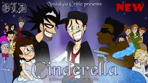 nostalgia critic titlecard old vs new cinderella bitcookies the nostalgia critic and hyper fangirl take their sparkly gloves off to decide the best disney cinderella in an old vs new review of the beloved