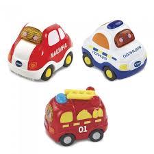 Набор из 3 машинок Toot-Toot Drivers <b>Vtech</b> - купить Набор из 3 ...