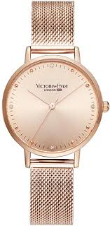 VICTORIA HYDE Womens Watches Quartz Detachable Stainless ...