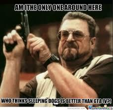 Top Sleeping Dogs Meme Images for Pinterest via Relatably.com